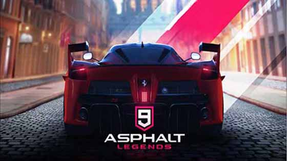 Asphalt 9 Legends free for android apkout