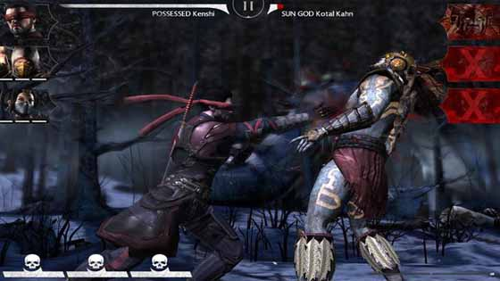 MORTAL KOMBAT X free for android apkout