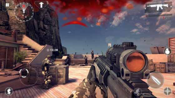 modern combat 4 free for android apkout